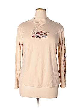 Mountain Lake Long Sleeve T-Shirt Size XL