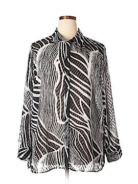 Allison Daley Long Sleeve Blouse Size 22 (Plus)