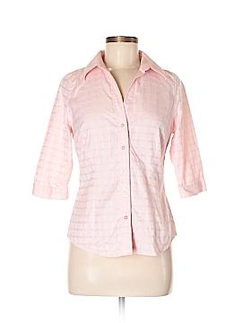 Thomas Pink 3/4 Sleeve Button-Down Shirt Size 6