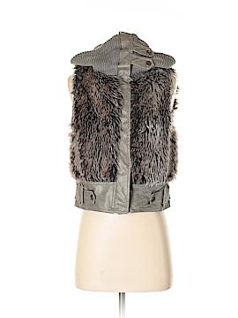 Dollhouse Faux Fur Vest Size S