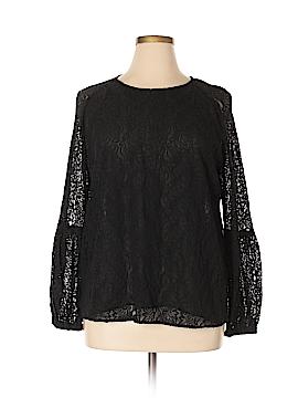 Calvin Klein Long Sleeve Blouse Size XL