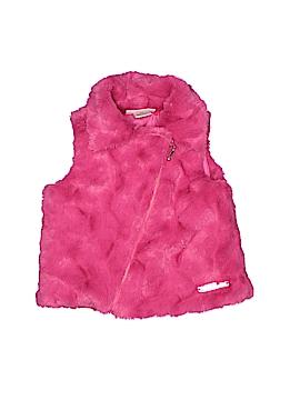 Juicy Couture Faux Fur Vest Size 18