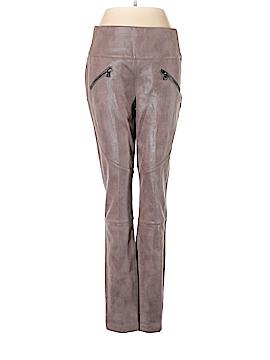 Melissa McCarthy Seven7 Faux Leather Pants Size M