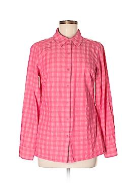 Isaac Mizrahi LIVE! Long Sleeve Button-Down Shirt Size 6
