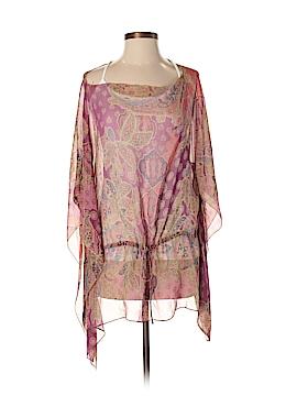 Lauren by Ralph Lauren 3/4 Sleeve Silk Top Size L