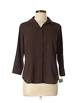 Covington Long Sleeve Button-Down Shirt Size 10 - 12