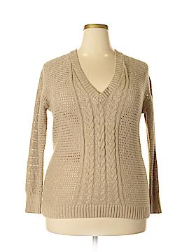 Lane Bryant Pullover Sweater Size 14/16 (Plus)