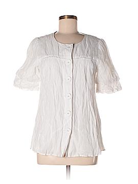 Laundry by Shelli Segal Short Sleeve Blouse Size 6