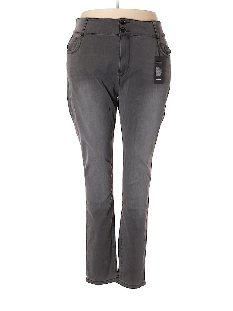 City Chic Women Jeans Size 24 (Plus)