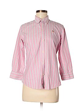 Ralph Lauren 3/4 Sleeve Button-Down Shirt Size 8