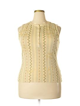 Lauren Jeans Co. Sleeveless Henley Size XL