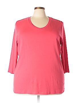 St. John's Bay Long Sleeve T-Shirt Size 3X (Plus)