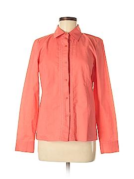 Ellen Tracy Long Sleeve Button-Down Shirt Size 6