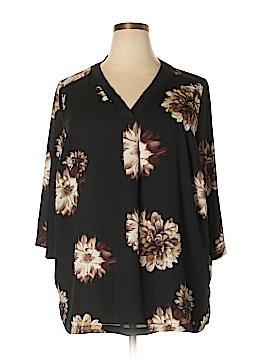M&S 3/4 Sleeve Blouse Size 54 (EU) (Plus)