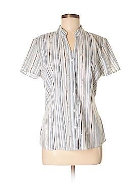 Fred David Short Sleeve Blouse Size M