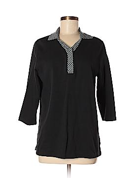 Sport Savvy 3/4 Sleeve Blouse Size M