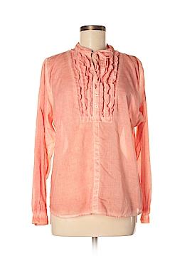 Caribbean Joe Long Sleeve Button-Down Shirt Size XL