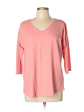 Purejill 3/4 Sleeve T-Shirt Size L