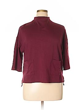 Bobeau 3/4 Sleeve Top Size L