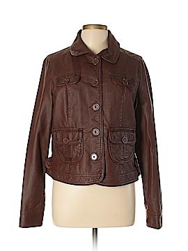 SONOMA life + style Faux Leather Jacket Size L