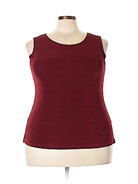 Mirasol Sleeveless Top Size 1X (Plus)