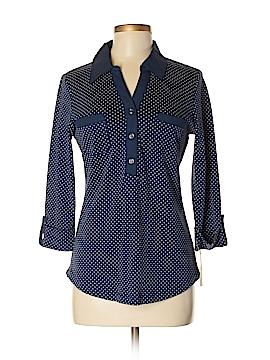 Karen Scott Long Sleeve Top Size M