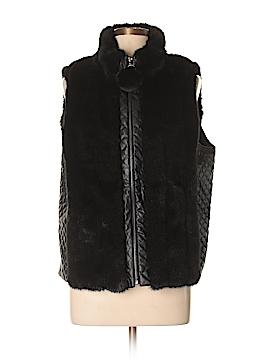 Jones New York Signature Faux Fur Vest Size XL