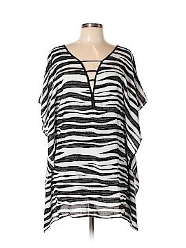 Vix by Paula Hermanny Short Sleeve Blouse Size M