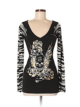 Ed Hardy Long Sleeve T-Shirt Size M