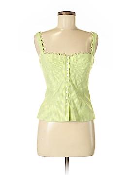 Nanette Lepore Sleeveless Button-Down Shirt Size 6