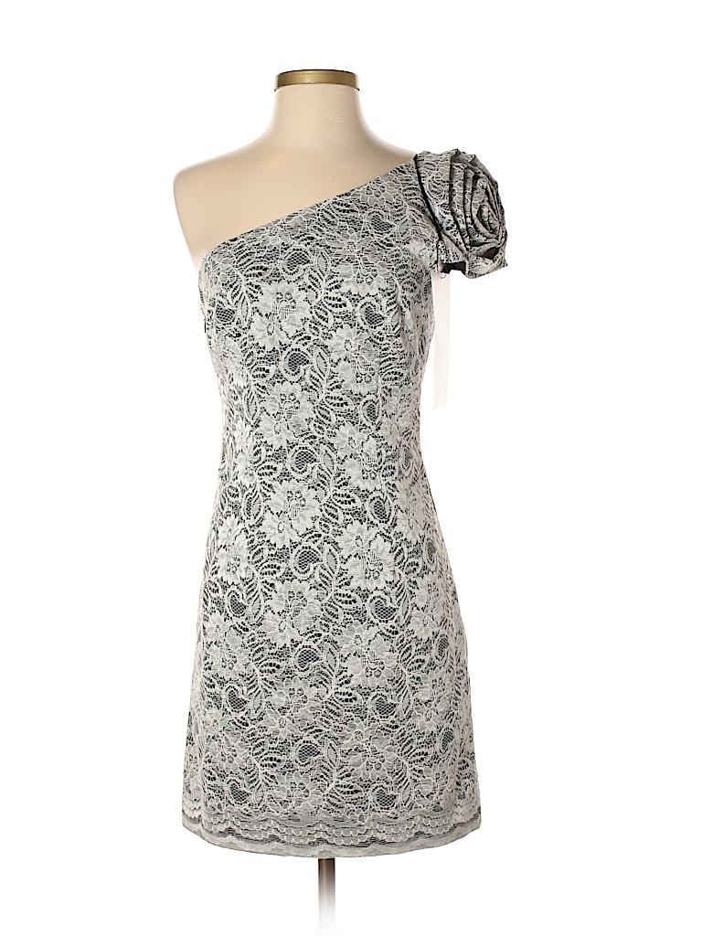 ABS Allen Schwartz Lace Beige Cocktail Dress Size 6 - 74% off | thredUP