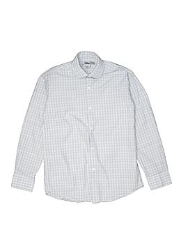 DKNY Long Sleeve Button-Down Shirt Size 12