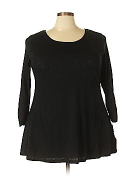 Style&Co 3/4 Sleeve T-Shirt Size 2X (Plus)