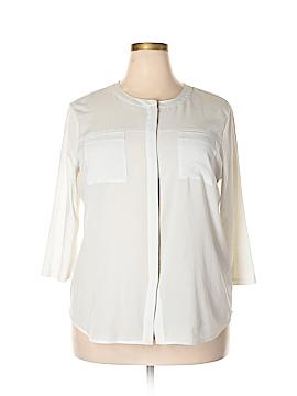 Van Heusen 3/4 Sleeve Blouse Size XXL