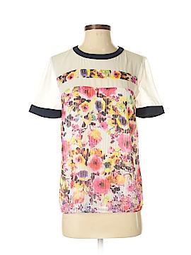 Wells Grace Short Sleeve Blouse Size XS
