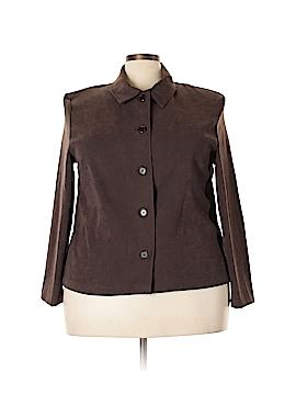 Briggs New York Long Sleeve Button-Down Shirt Size 2X (Plus)