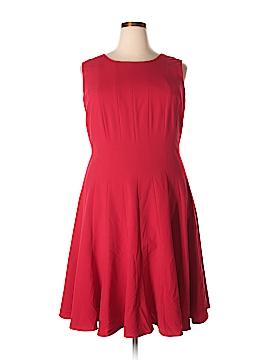 Ellen Tracy Casual Dress Size 22 (Plus)