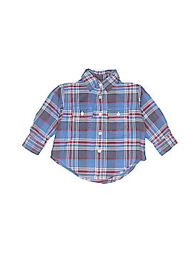 Polo by Ralph Lauren Long Sleeve Button-Down Shirt Size 9 mo