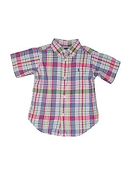 Ralph by Ralph Lauren Short Sleeve Button-Down Shirt Size 3T - 3