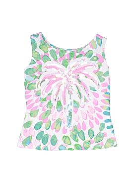 Kate Mack Sleeveless Button-Down Shirt Size 4