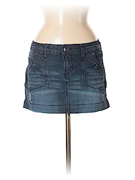 L.e.i. Denim Skirt Size 11