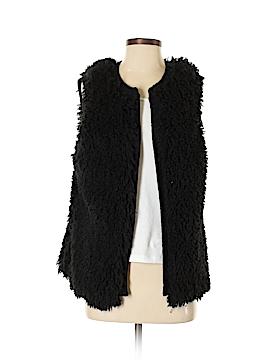 Love on a Hanger Faux Fur Vest Size S