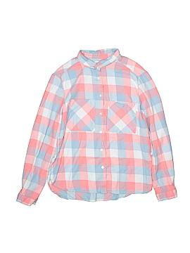 Zara Long Sleeve Button-Down Shirt Size 13/14