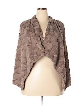 Elevenses Faux Fur Vest Size L