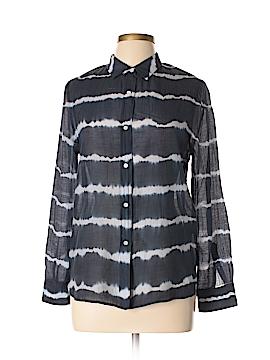 Gerard Darel Long Sleeve Button-Down Shirt Size 6 (38)