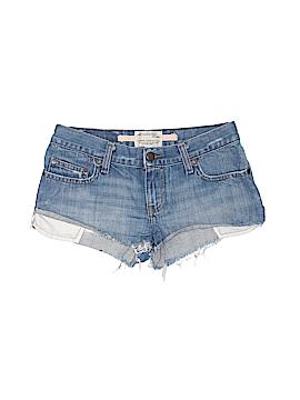 Abercrombie & Fitch Denim Shorts Size 00