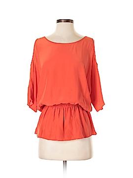 Drew 3/4 Sleeve Silk Top Size S