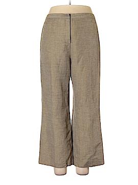 Le Suit Linen Pants Size 14 (Petite)