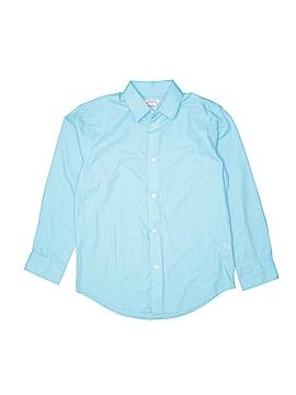 IZOD Long Sleeve Button-Down Shirt Size 10 - 12