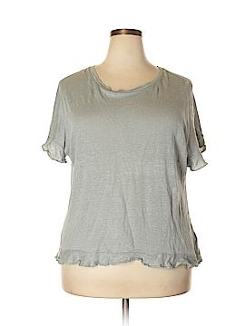 Eri + Ali Short Sleeve Top Size XL